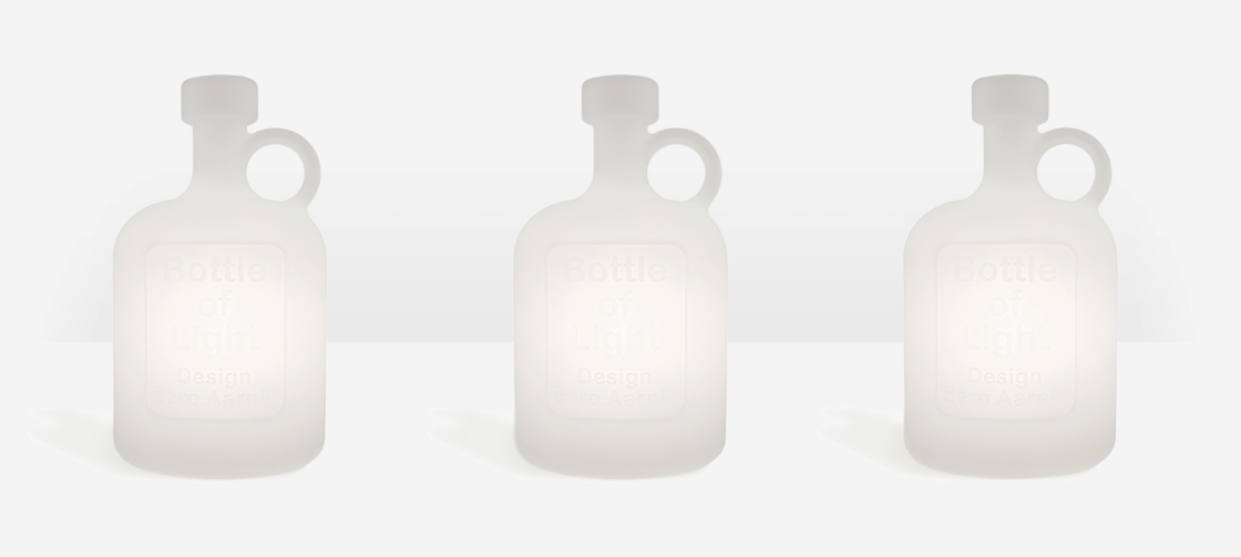 Bottle of Light lamp